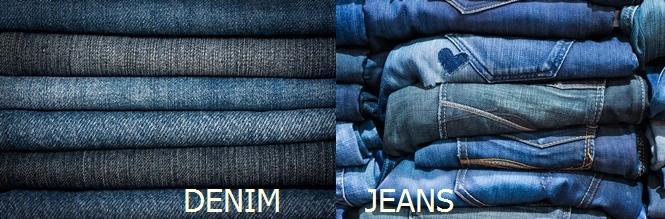 Phân biệt jeans và denim