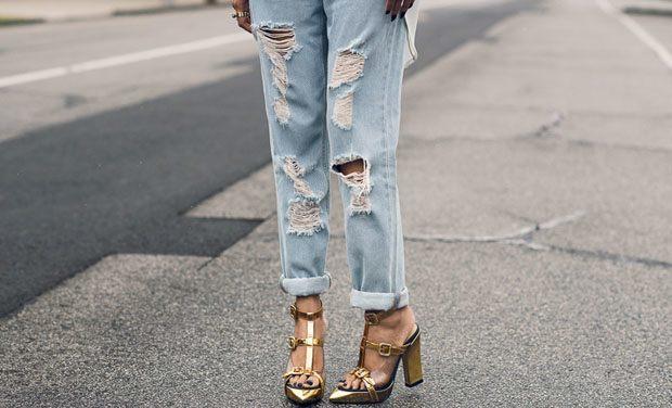 phối đồ với quần jean nữ boyfrien 7