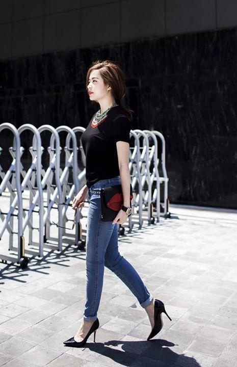 Cách chọn quần jean skinny tôn dáng