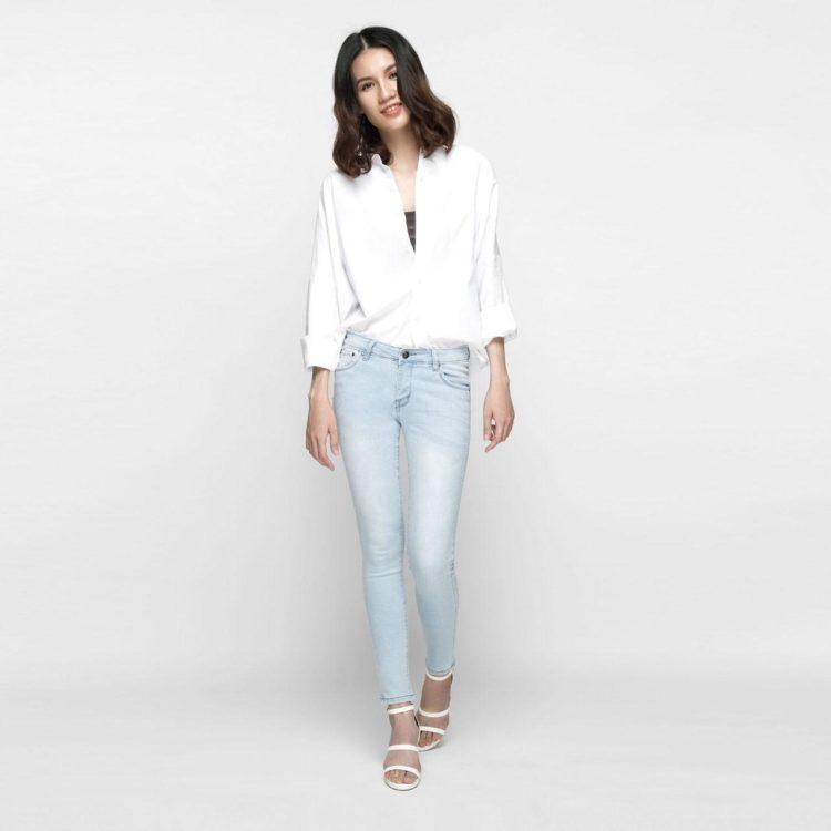 Hình ảnh Quần Jean Nữ Skinny Aaa Jeans SKDVT_XP-1