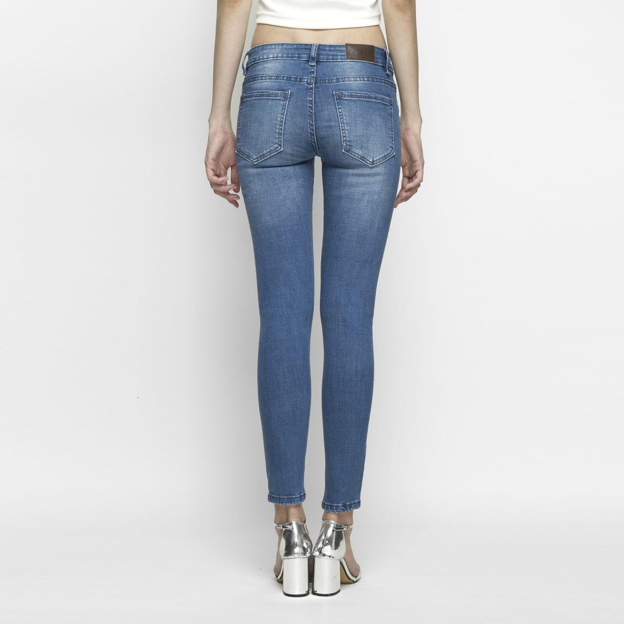 Hình ảnh Quần jeans nữ skinny xanh biển 4