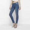Hình ảnh Quần jeans nữ skinny xanh biển 5