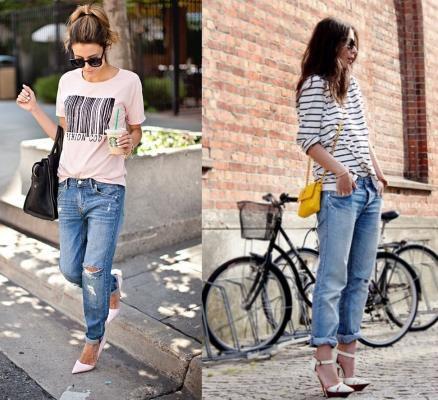 quần jean boyfriend cho ngườii có hông rộng