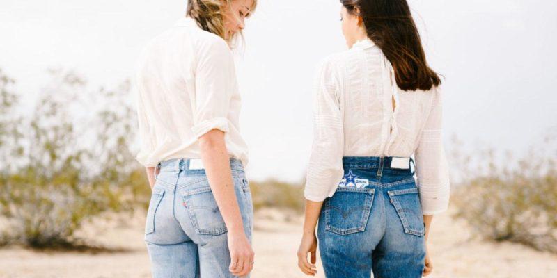 quần jean lưng cao cho vòng ba xệ, thấp