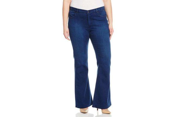 quần jean ống loe cho người mập