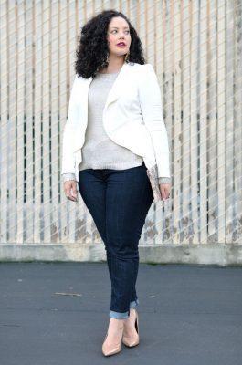 quần jean skinny cho người mập