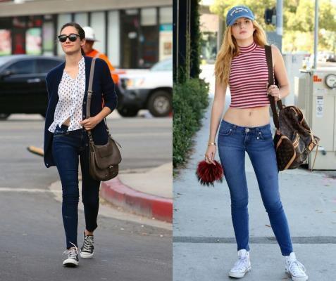 quần jean skinny cho người thấp