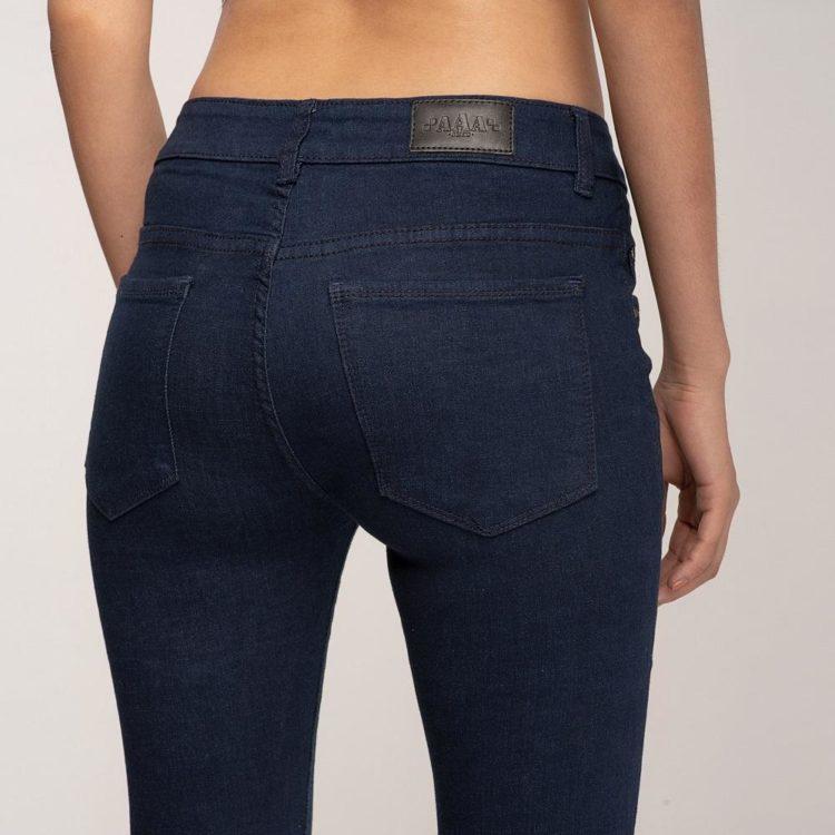 Quần Jean Nữ Skinny Xanh Đen Lưng Vừa