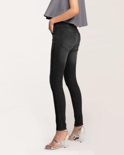 Quần Jean Nữ Skinny Đen RM - Meraki