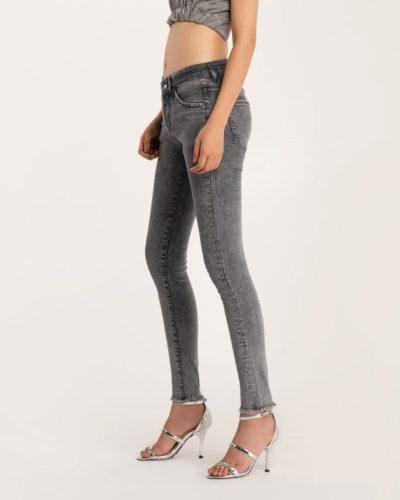 Quần Jean Nữ Skinny Xám Meraki