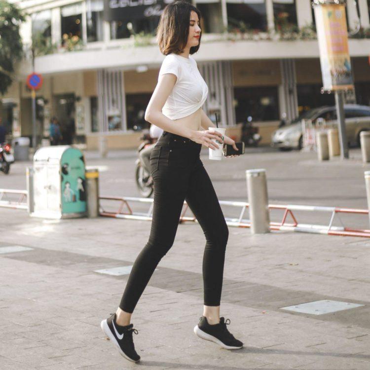 Quần jeans pha tơ nhân tạo ultra skinny UCSD Rayon - The Signature
