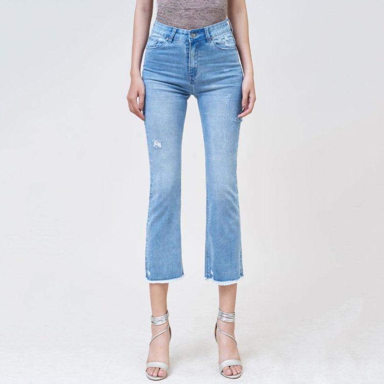 Hình Ảnh Quần jean nữ ống loe Aaa Jeans Savoy blue FLACTRTZC_SVE-1