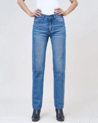 Hình Ảnh Quần Jean nữ slim Aaa Jeans màu xanh biển SLDCTRNZC_MBE-1