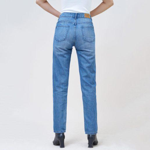 Hình Ảnh Quần Jean nữ slim Aaa Jeans màu xanh biển SLDCTRNZC_MBE-2