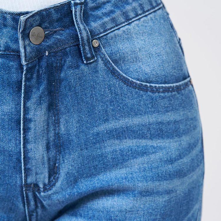 Hình Ảnh Quần Jean nữ slim Aaa Jeans màu xanh biển SLDCTRNZC_MBE-4