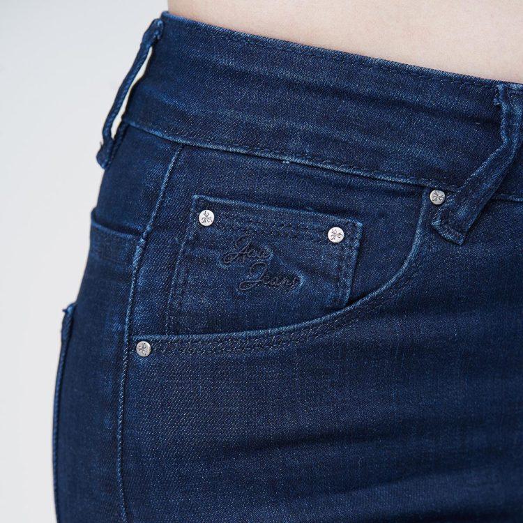 Hình Ảnh Quần jean nữ Aaa Jeans ankle skinny lưng cao xanh đen UR_SKACTRNZC_XD4H-4