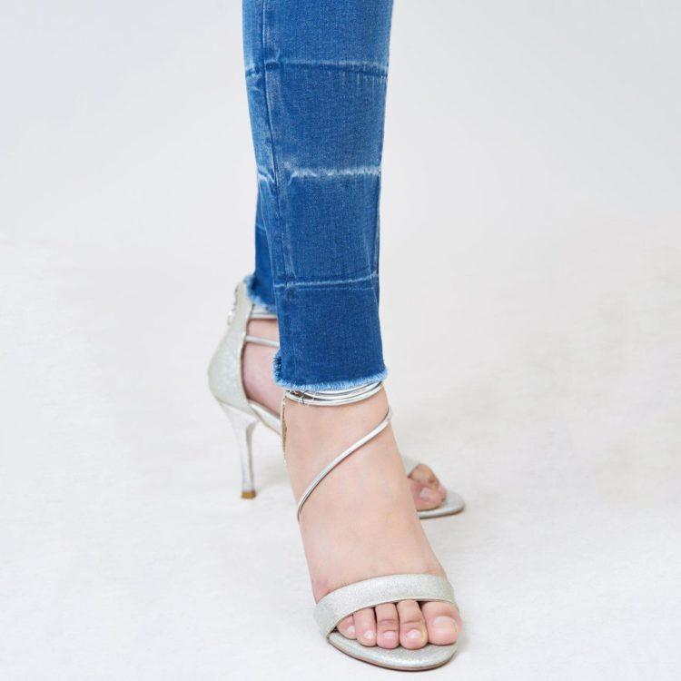 Hình Ảnh Quần jean nữ Aaa Jeans skinny lưng cao silver blue SKDCTRCZC_SVE-4