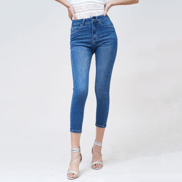 Hình Ảnh Quần jeans nữ Aaa Jeans ankle lưng cao UR_SKACTRNZC_XD2A-1
