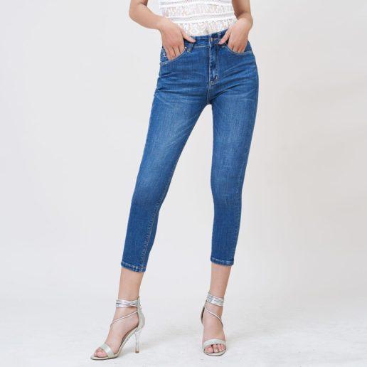 Hình Ảnh Quần jeans nữ Aaa Jeans ankle lưng cao UR_SKACTRNZC_XD2A-6