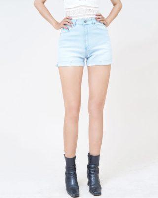 Hình Ảnh Quần short Aaa Jeans lưng cao baby blue SOSCTRLZC_JBB-1