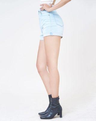 Hình Ảnh Quần short Aaa Jeans lưng cao baby blue SOSCTRLZC_JBB-2