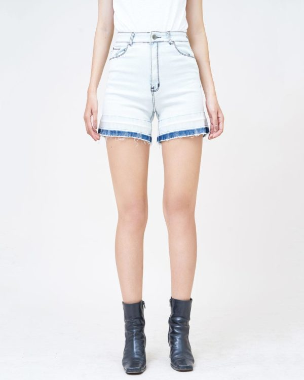 Hình Ảnh Quần short jean nữ Aaa Jeans lưng cao SOSCTRFZC_HWB-1