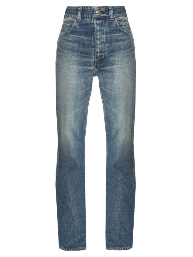 Hình ảnh quần jean nữ ống đứng của Visvim có giá gần 15 triệu đồng.