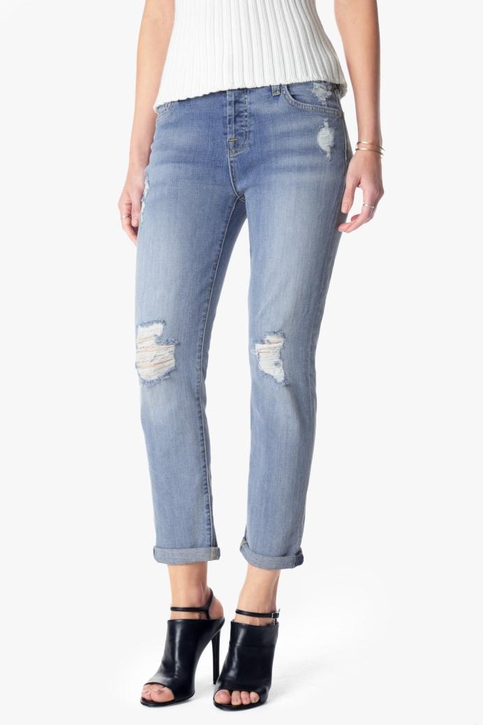 Hình ảnh quần jean boyfriend giá 229 usd của 7 For all Mankind
