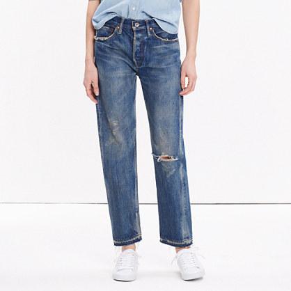 Hình ảnh quần jean của Chimala có giá 450 usd