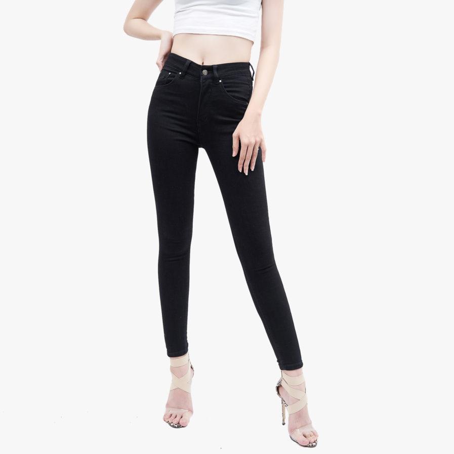 Hình ảnh sản phẩm Quần Jean Nữ Hiệu AAA Jean màu đen