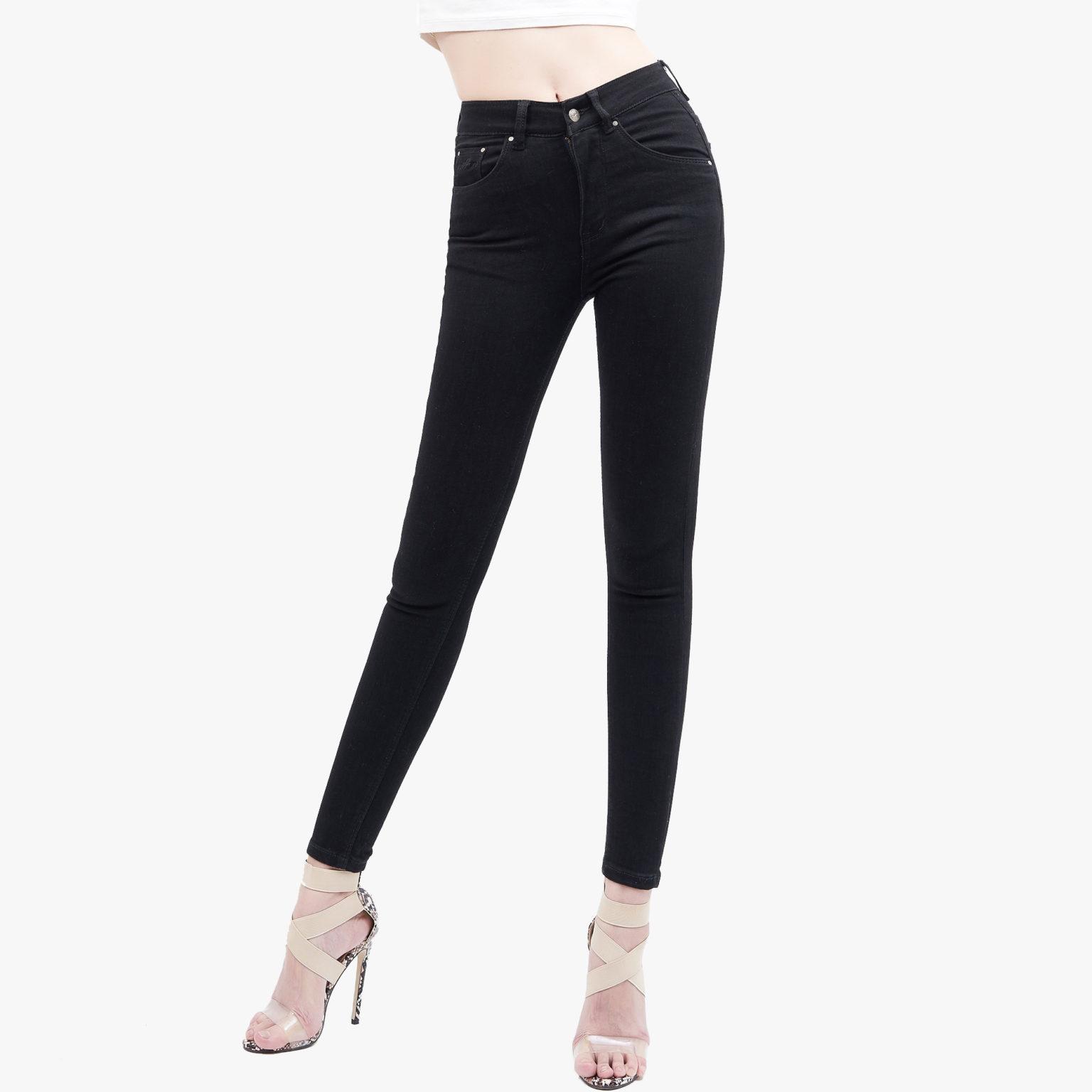 Hình ảnh sản phẩm Quần Jean Nữ cao cấp Hiệu AAA Jean màu đen