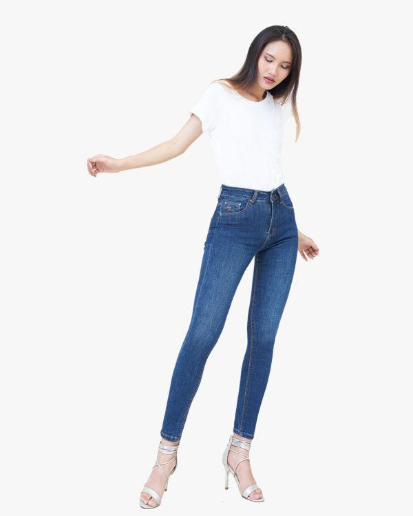 Hình ảnh Quần Jean cao cấp Hiệu AAA Jean màu xanh đậm