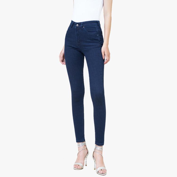 Hình ảnh sản phẩm Quần Jean nữ Hiệu AAAJean màu xanh đen
