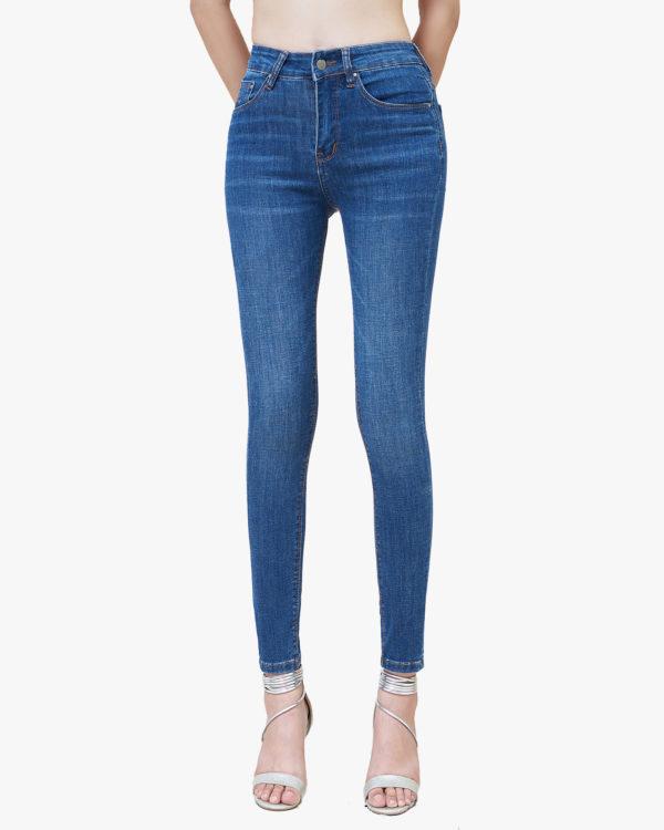 Hình ảnh sản phẩm Quần Jean nữ lưng cao Hiệu AAAJean