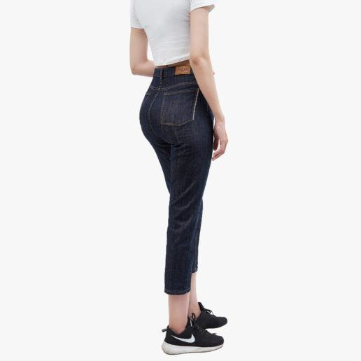 Hình ảnh Quần Jean Boyfriend cao cấp Hiệu AAA Jean màu đen