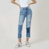 Hình ảnh sản phẩm quần Jean nữ boyfriend Hiệu AAA Jean có rách