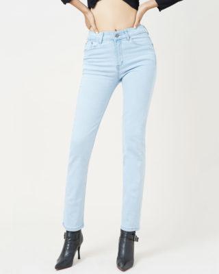 Hình ảnh Sản phẩm quần Jean nữ hiệu AAA màu xanh sáng
