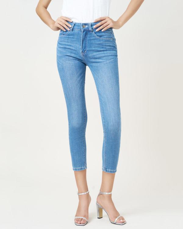 Hình ảnh quần jean Hiệu AAAJean xanh trơn