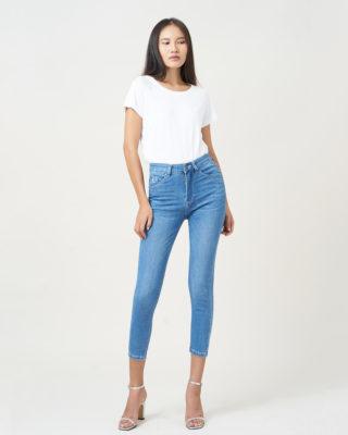 Hình ảnh sản phẩm quần jean nữ lưng cao AAA Jeans