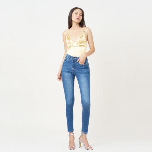 Hình ảnh sản phẩm quần AAA Jeans xanh biển trơn