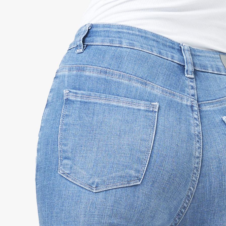 Quần Jean Nữ Aaa Jeans Lưng Cao Skinny Xanh Biển Nhạt - UCSD RAYON