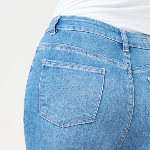 Hình ảnh Sản phẩm quần Jean Nữ AAA Jeans xanh biển