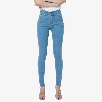 quần jean pha sợi cà phê